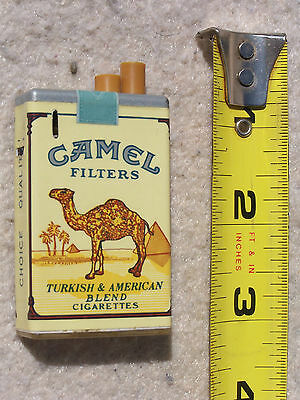 LIGHTER - CAMEL Turkish & American CIGARETTE, pack shaped, FREE SHIP