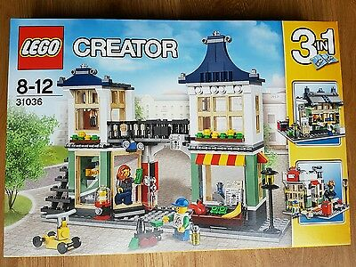 LEGO Creator Toy And Grocery Shop, 31036, Retired Set, brand new & sealed