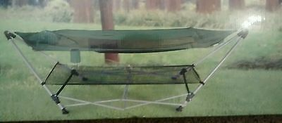 Portable Camping Hammock Outdoor Garden Hanging Sleeping Bed Folding Stand