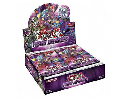 Yu-Gi-Oh Fusion Enforcers Trading Card Game Booster Box New/Sealed