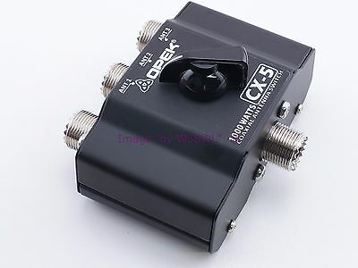 3 Position Coax Antenna Switch 1KW Max PEP Rated Opek Model CX-5 - Sold by W5SWL