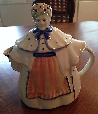 "Granny Anne ""Shawnee Pottery""  Lady Teapot  Made in the USA"