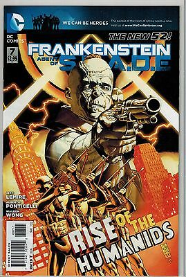 Frankenstein Agent Of Shade - 007 - DC - May 2012