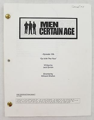 Men of a Certain Age - Go With The Flow by Jack Orman Production Script