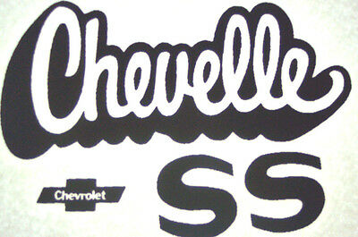 Chevelle SS    Vintage 70's T-Shirt transfer  NOS