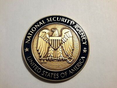 NSA National Security Agency Challenge Coin Global Telecommunications Operations