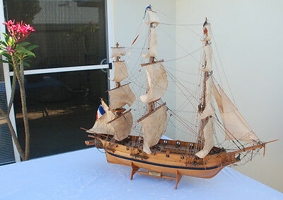 """Astrolabe Handcrafted Model WOODEN Tall SAILING SHIP 40"""" Handmade Corvette"""