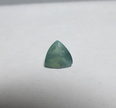 Super Scarce .43ct Natural Trillion Cut Alexandrite-Good Color Change!