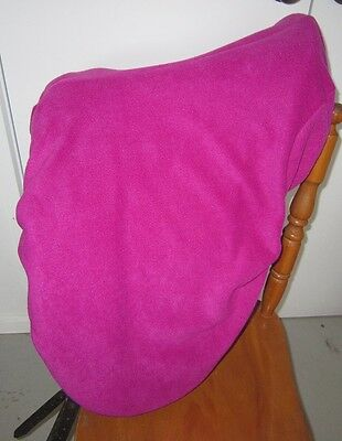 Horse Saddle cover in HOT Pink FREE EMBROIDERY Made in Australia  Protection