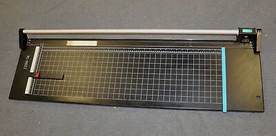 """New 36"""" Hard Steel Manual Rotary Paper Trimmer Cutter,Photo,Poster,Banner,Copper"""