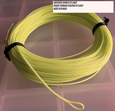 WF-3-F FLY LINE (nymph taper) WITH LOOP Northern Sports Made in Canada