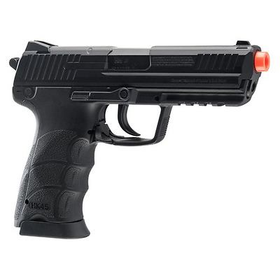 H&K 2273026 45 CO2 Airsoft Pistol, Black, Small