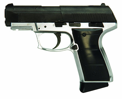 Daisy Outdoor Products 985501-442 Blowback Pistol, Silver/Black, 6.8-Inch