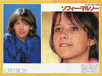 SOPHIE MARCEAU in Japan 1982 JPN PICTURE CLIPPINGS 3-Sheets(4-Pages) #UC/T