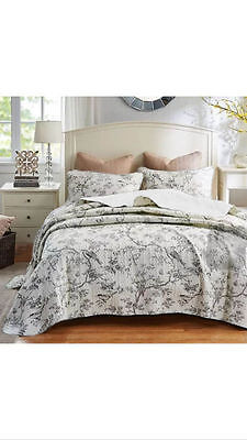 Quilted Cover Bedspread Coverlet Throw Blanket  DM52- 3pcs  King