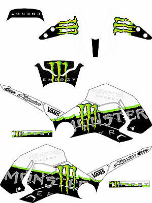 Sticker Kit For Honda Msx + Honda Grom 125 + Graphics Kit + Motocross Stickers