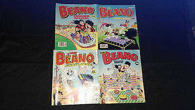 The Beano Vintage Summer Special Small Joblot/Bundle X 4 1989,1990,1991,1993
