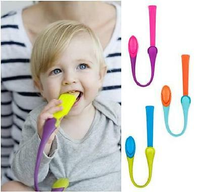 Boon Gnaw Baby/Infant Teething Tether Rusk Holder  with Clip - 3 colour choices