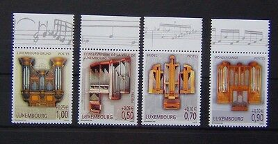 Luxembourg 2006 Pipe Organs set MNH