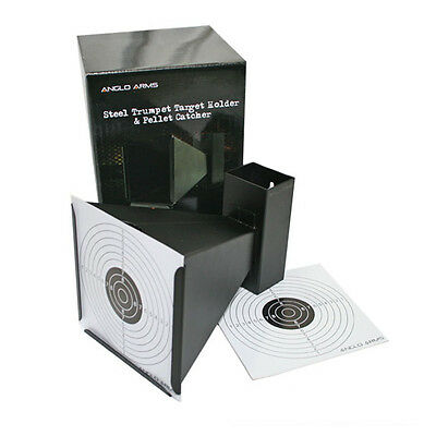 Metal Cone Target with 10 Paper Targets Air Rifle Shooting Practice Anglo Arms