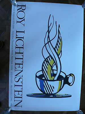 Roy Lichtenstein Affiche Lithographique ( Warhol, Haring, Obey, Pop Art )