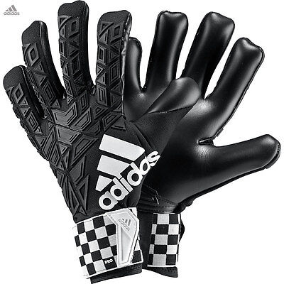 adidas ACE Trans Pro CF Chequered Black Goalkeeper Gloves Size