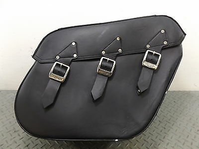 Triumph Rocket III RH Right Leather Pannier Saddle Bag A9520069