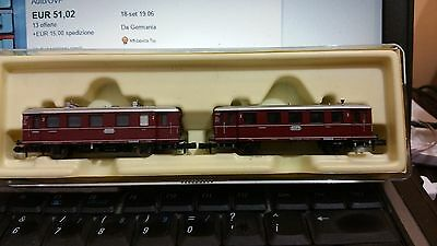 Minitrix N 1:160 12090 Db Trailer Diesel Interurban Vt 75 Db Very Good Ovp