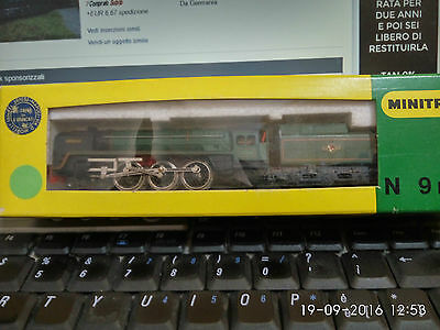 "Minitrix N 1:160 2037  BRITISH STEAM LOCO TENDER ""BRITANNIA"" 70000 BR BOX MANUAL"