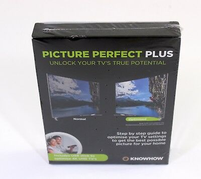 NEW - Know How Picture Perfect Plus for HD/4K Tv's