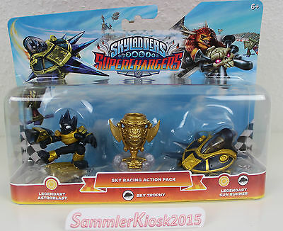 Legendary Sky Racing Action Pack Skylanders Superchargers Light Special Edition