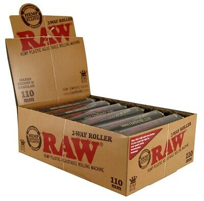 12x RAW 2-Way Roller 110mm verstellbar Slim/Regular adjustable (1 Display)