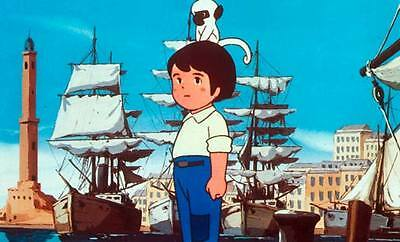 35mm MARCO ANDE NIPPON ANIME MOVIE/PELLICOLA/FILM SPANISH  母をたずねて三千里 劇場版 アニメ 日本