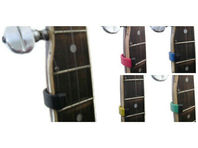 Fifth String Banjo Capo No Drilling Required - Variety of Colours Stoney Capo