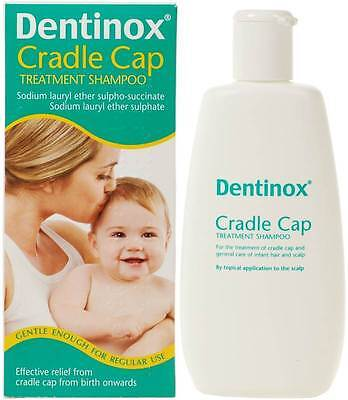 *FRESH 02/2019* Dentinox Cradle Cap Treatment Baby Shampoo *LAST CHANCE* 125ml