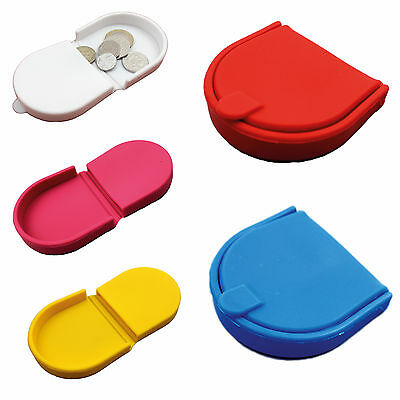 New Unisex Silicone Purse Wallet Coins School Travel Holiday Children Uk Seller