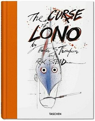 The Curse of Lono by Hunter S. Thompson Hardcover Book (English)
