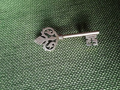 Vintage Sterling Silver 925 Key Pin Brooche Taxco Mexico