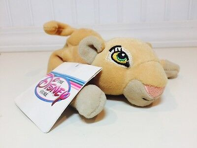 """Disney Store Exclusive Nala The Lion King 8"""" Plush Stuffed Toy New With Tags"""