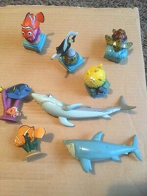 Finding Nemo Figure And Stamp Bundle Disney Store