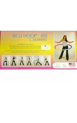 ACU HOOP 4M - 4 lb. medium. with Workout DVD