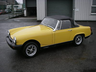 1980 MG MIDGET 1500 ~ 57818 Miles ~ Good History
