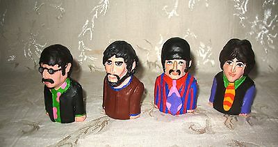 Beatles Resin Cast Doll Set of 4