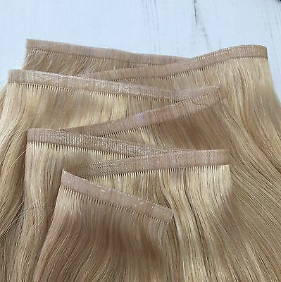 5a Indian Remy 100% Human Hair Extensions SUPER FLAT WEFT 100g 50g 150g