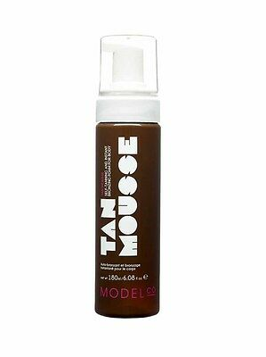 Brand New ModelCo Tan Mousse Self-Tanning Instant Bronzing Foam For Body 180ml