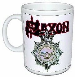 Saxon Heavy Metal Strong Arm Of The Law Colour Mug