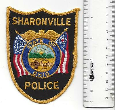 SHARONVILLE OHIO OH Police Cloth Shoulder Patch in good shape