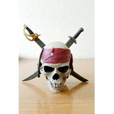 Pirates of the Caribbean Captain Jack Sparrow Skull Movie Figure FREE SHIPPING