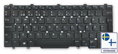0JPRWH Dell Latitude E5450//E5470//5480//5490 2P SWEDISH//FINNISH Backlit Keyboard