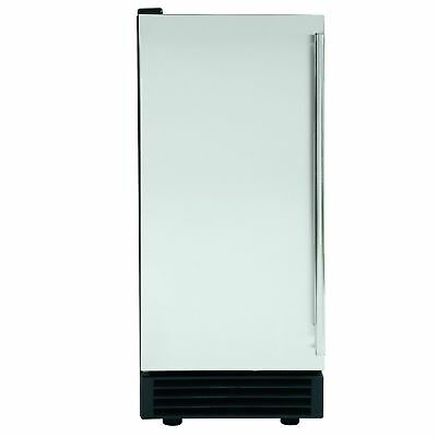 Maxx Ice MIM50 14.6in Commercial NSF Energy Star Clear Cube Ice Maker Built-In